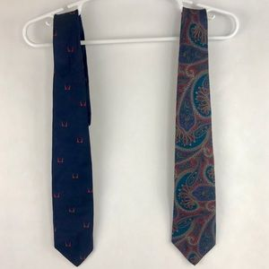 Bundle of 2 givenchy men's ties